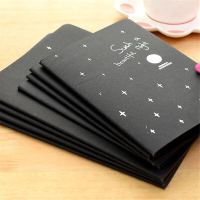 Black best Paper Notebook Sketch Graffiti Drawing Painting Stationery 2 Sizes