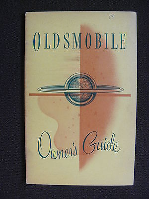 Oldsmobile 1951 Owner's Guide - US-Betriebsanleitung / operation manual 1951