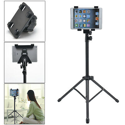 Adjustable 360 Rotating Foldable Black Tripod Stand Holder For Ipad 1 2 3 4 Air
