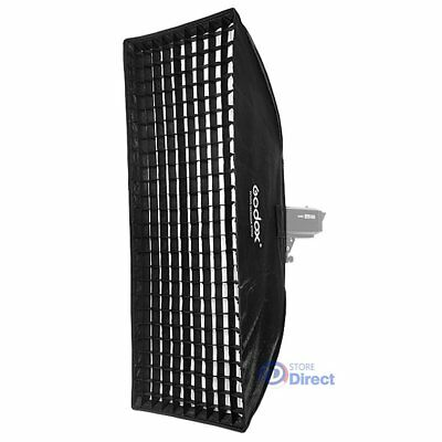 Aluminum Godox 50x130cm Softbox W/ Grid Bowens Mount for Studio Strobe Flash AU