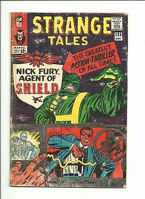 Strange Tales #135 1st SHIELD, Agent Nick Fury 1965 affordable Silver Age key