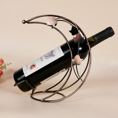 1Pcs Metal Wine Holder Creative Hot New Metal Moon Model Wine Rack