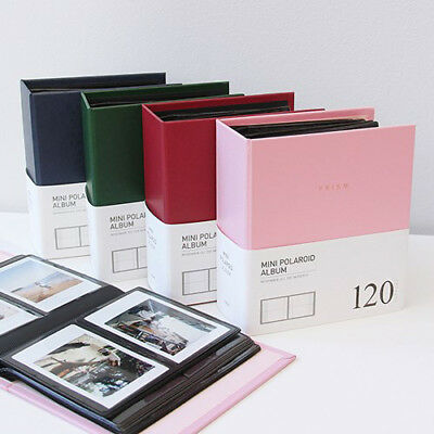 INDIGO Polaroid Photo Album Book Instax Mini Scrapbook Business Name Card Holder