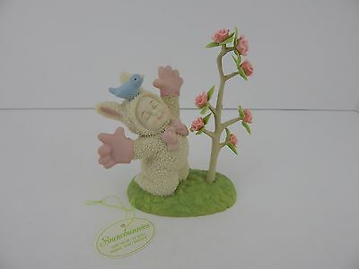 Dept 56 Snowbunnies Grow It. It Will Make You #26423 2002 Retired Good Condition