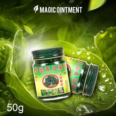 50g Strong Relief Pain Anti-inflammatory Swelling Tiger Origin Thai Herbal Balm