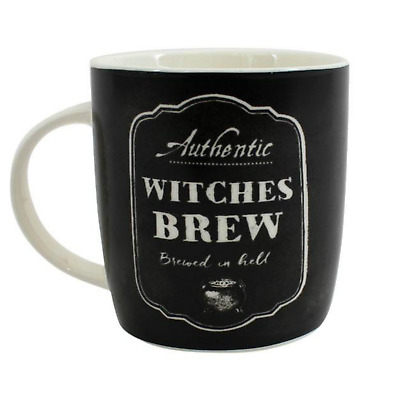 "Halloween Boxed Mug "" Witches Brew "" Halloween Decoration"