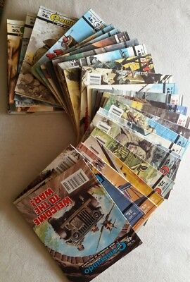 Commando Comics X30 issues. 1987-94. Very Good cond.