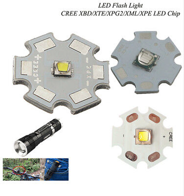 Cree XPG2 XM-L T6 XBD/ XP-E R3/R5 / XT-E R5 light UV LEDs Diode White+20mm pcb