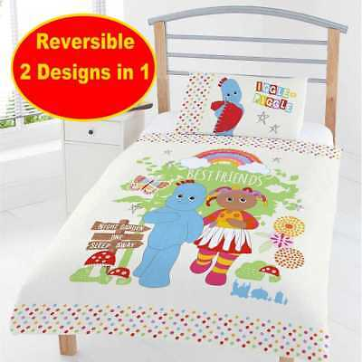 Official In The Night Garden Junior Toddler Baby Cot Bed Duvet Quilt Cover Set