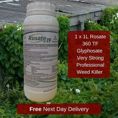 Very Strong Professional Weed Killer Rosate 36 Kill Grass And Broadleaf Weed 1L