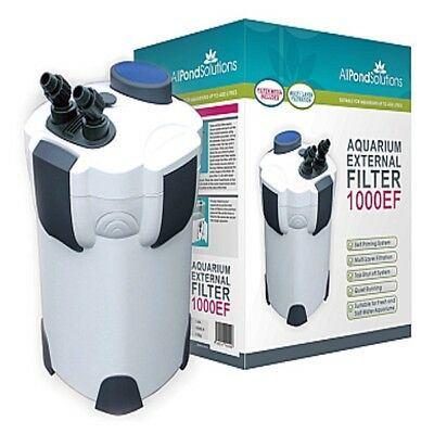 All Pond Solutions 1000EF Aquarium External Filter 1000 Litre/ Hour