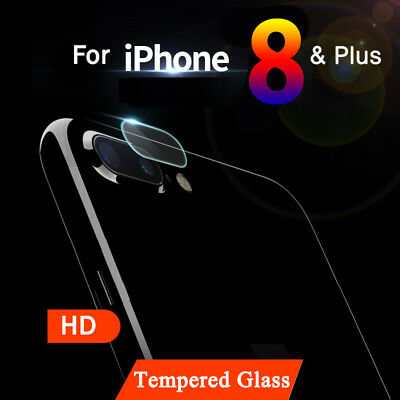 7.5H Back Camera Lens Tempered Glass Film Protector Case For iPhone 8 / Plus Lot