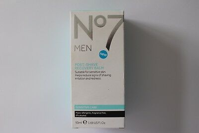 No7 For Men Post-Shave Recovery Balm Sensitive Care - 50ml