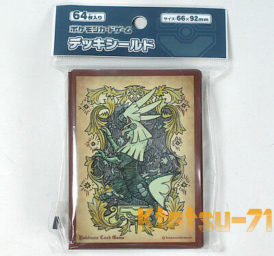 Pokemon Card Game TCG Protector Deck Shield Sleeves Silvally