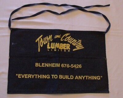 Denim Tool / Nail Apron From Town & Country Lumber