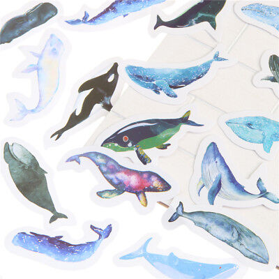 Whale Planner Stickers - Bullet Journal - Scrapbooking