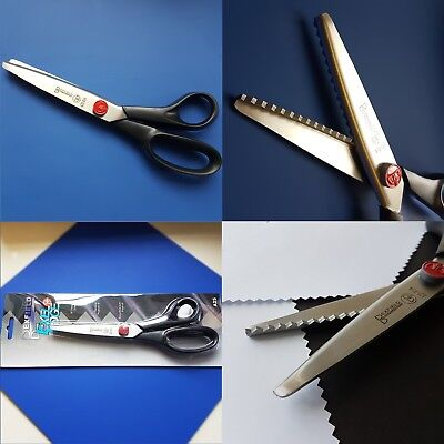 Fabric Dressmaking Pinking Shears Zig Zag Cut Scissors 8 and 1/2 inch - QUALITY!