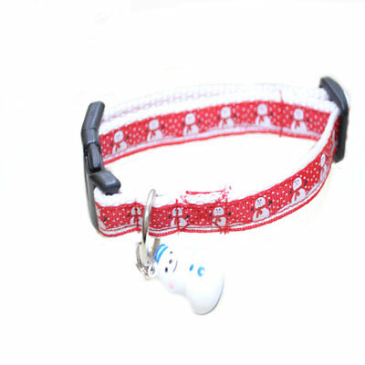 CHRISTMAS SNOWMAN SNOWMEN Festive Xmas Cat Kitten Puppy Small Dog Collar