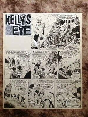 KELLY'S EYE original art page by F. Solano Lopez