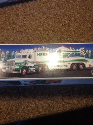 Hess 1995 Toy Truck And Helicopter Nib