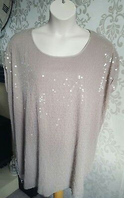 Evans - Plus Size 32 - Sparkle Tunic Top - Brand New With Tags
