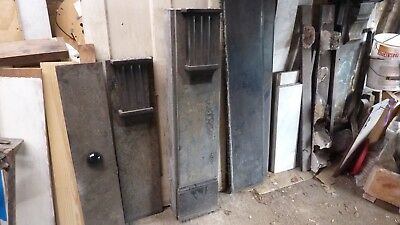 Large Victorian Slate Fire Surround For Restoration