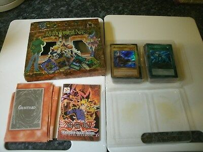 Rare Boxed 1996? Yugioh Mythological Age Trap Master Deck Trading Card Game
