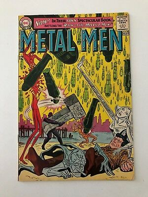 Metal Men #1 (DC Comics; May, 1963) - 1st appearance in own magazine - Vg+