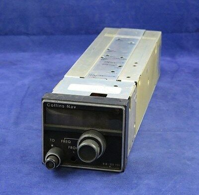 Rockwell Collins NAV Receiver VIR 351 P/N 622-2080-011 Repaired with FAA 8130