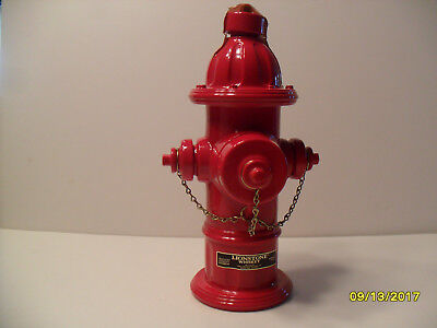 Lionstone Mueller Fire Hydrant #6 In Series Decanter