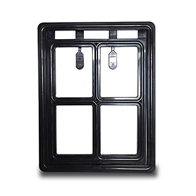 Pet Leso Dog Puppy Cat Door Gate Way For Screen Window Large 16'' x 12''