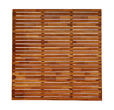 Acacia Hardwood Finger Join Fencing Panels Privacy Screen Hardwood Screens