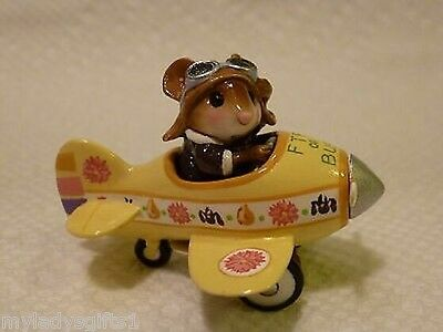 Wee Forest Folk Special Color FTF or Bust Yellow Pedal Plane