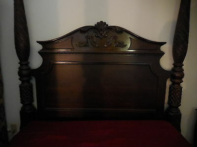19th Century Style- Four Poster Bed-Queen Size- Exc-NEW LOW PRICE!!!