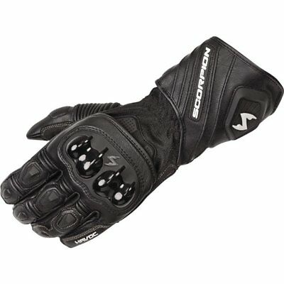 Scorpion EXO Havoc Vented Leather Gloves Motorcycle Gloves