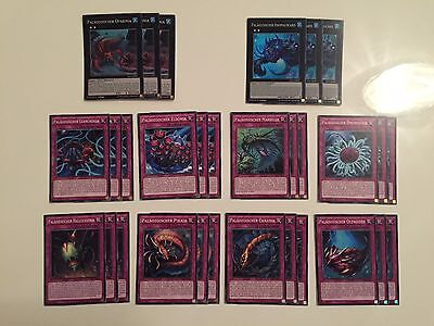 YUGIOH!! Paläozoisch Deck Playset 30 Karten TDIL/MP17! Near Mint! DE!