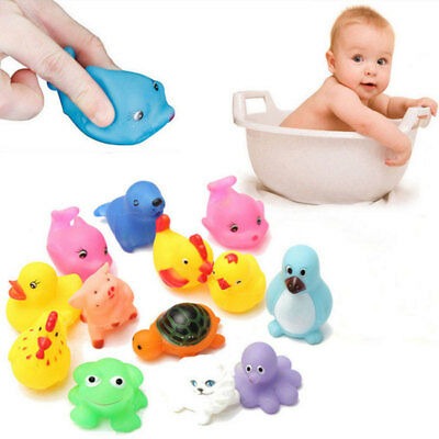 Bath Time Toys Bathing Shower Octopus For Baby Boys Girls Water Play Toys x13