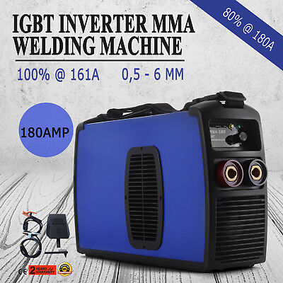 Inverter Welding Machine 180A MMA Arc E-HAND Welder 50HZ/60HZ 20-180A Portable