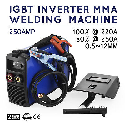Inverter Welding Machine 250A MMA Arc E-HAND Welder 50HZ/60HZ 20-250A IGBT