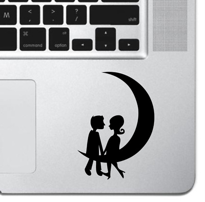 "Romantic Macbook Sticker Decal Skin Cover for Macbook Air Pro 13"" 15"" Love Moon"