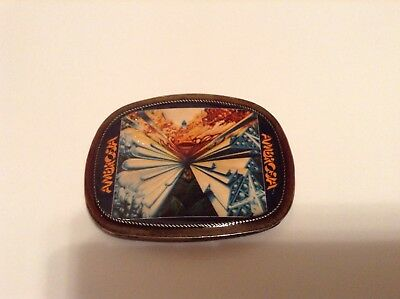 PACIFICA Belt Buckle- 1975 AMBROSIA- VINTAGE- Rock And Roll- RARE