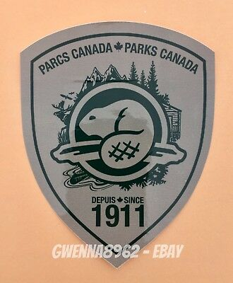 Official Parks Canada Decal - National Parks Sticker