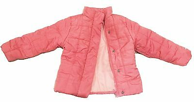 Pumpkin Patch EUC Coral Pink Padded Jacket Size 4