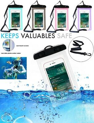 New Waterproof Underwater Pouch Dry Bag Case Cover For Samsung Mobile Phones