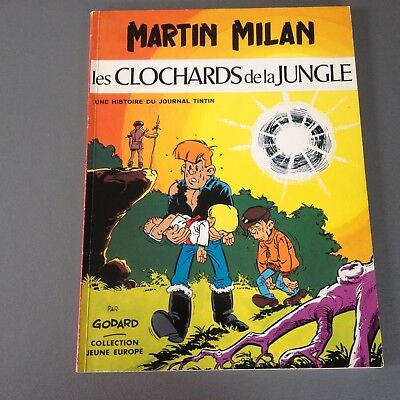 Martin MILAN  Album souple Les clochards de la jungle - JE86 eo 1973 TBE+++