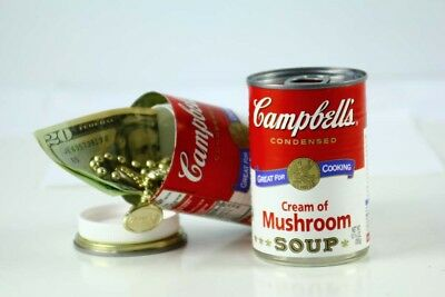 Campbell's Cream of Mushroom Soup - Diversion Can Safe - Made in the USA - Hi...
