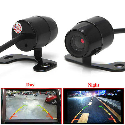 1X 120º Mini Color CCD Reverse Backup Car Front Rear View Camera Day Vision