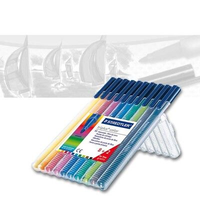 (0,73€/Stift) Staedtler Triplus Color Set 10er Box Fasermaler Staedtler 323 SB10