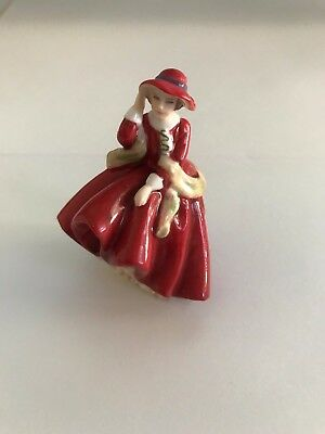 Royal Doulton Small Miniature Ladies - Top O'The Hill