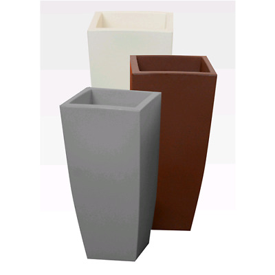 Vaso Home Quadro Cm.33X33X70H.brown